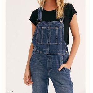 Free People Jeans - Free People Boyfriend Overalls
